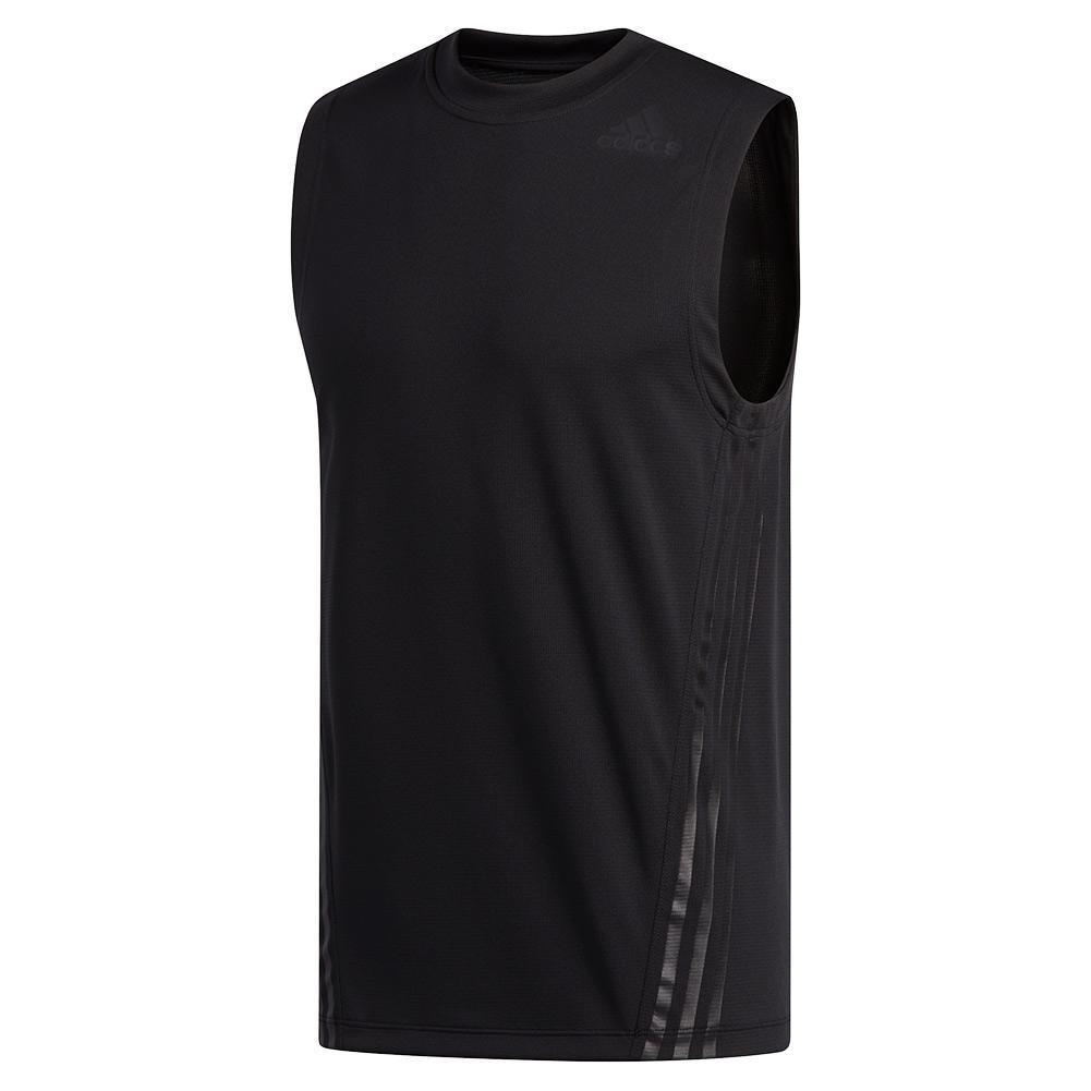 Men's Aeroready 3- Stripes Sleeveless Top Black