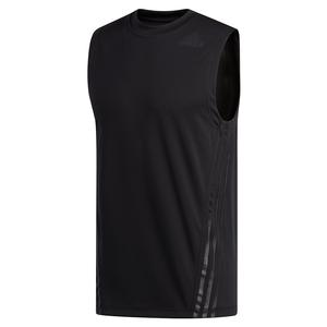 Men`s AEROREADY 3-Stripes Sleeveless Top Black