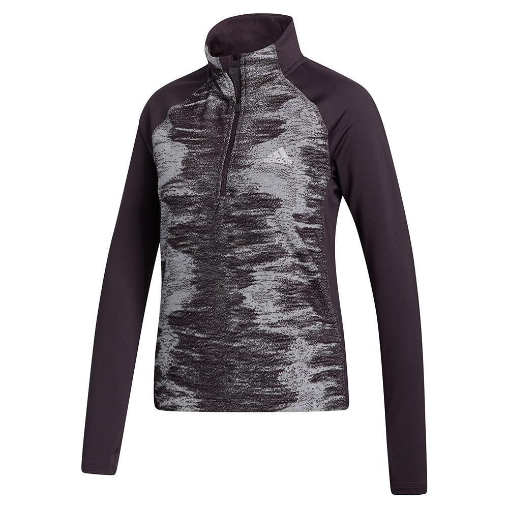 Women's Aeroready 1/2 Zip Training Pullover Noble Purple