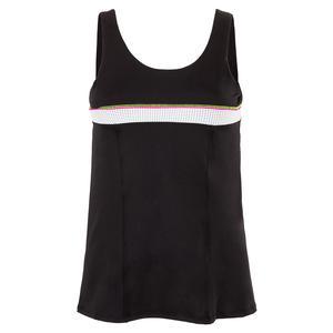 Women`s Uprise Bungee Tennis Tank Black