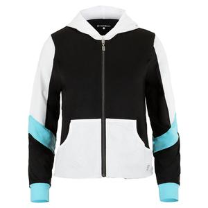 Women`s Tennis Jacket Black and Croc