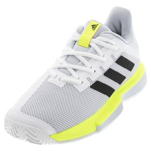 Women`s SoleMatch Bounce Tennis Shoes Footwear White and Core Black