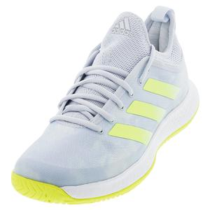 Women`s Defiant Generation Tennis Shoes Halo Blue and Solar Yellow