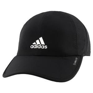 Youth Superlite Tennis Cap Black and White