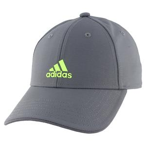 Youth Decision Tennis Cap Onix and Signal Green