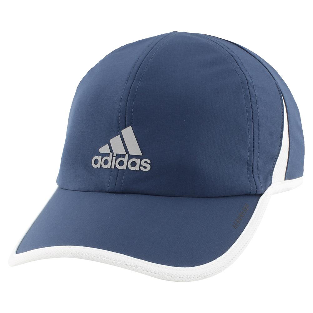 Men's Superlite Tennis Cap Crew Navy And White