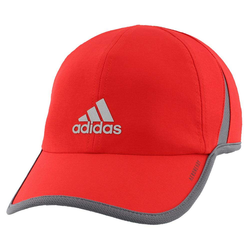 Men's Superlite Tennis Cap Vivid Red And Onix