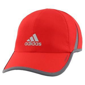 Men`s Superlite Tennis Cap Vivid Red and Onix