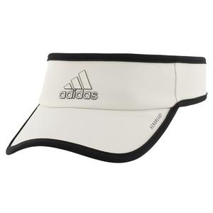 Men`s Superlite Tennis Visor Alumina and Black