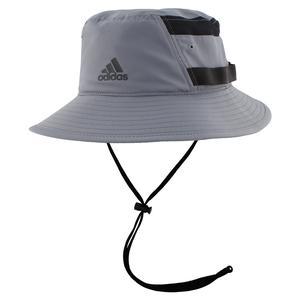 Men's Victory III Bucket Hat Grey and Black