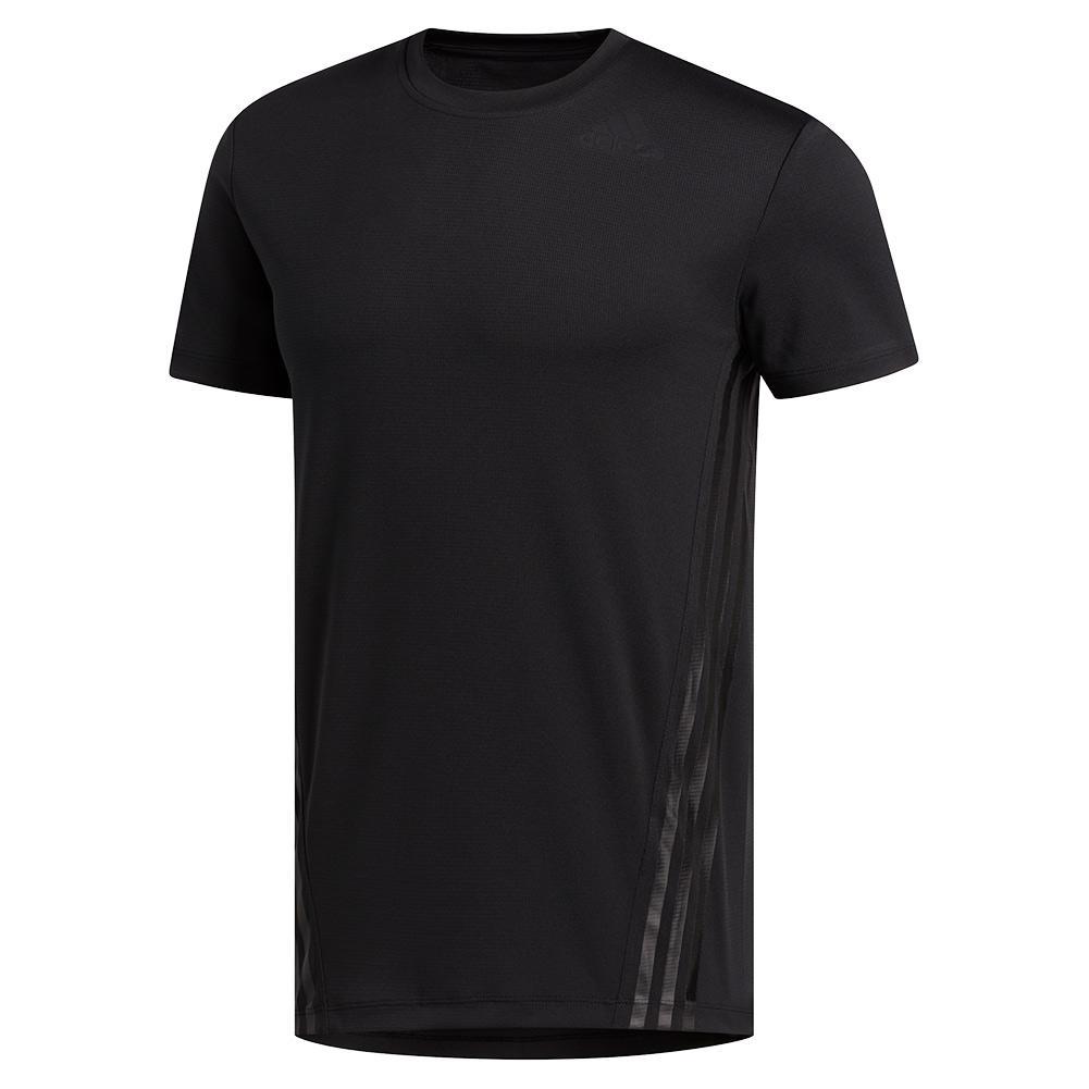 Men's Aeroready 3- Stripes Tee Black