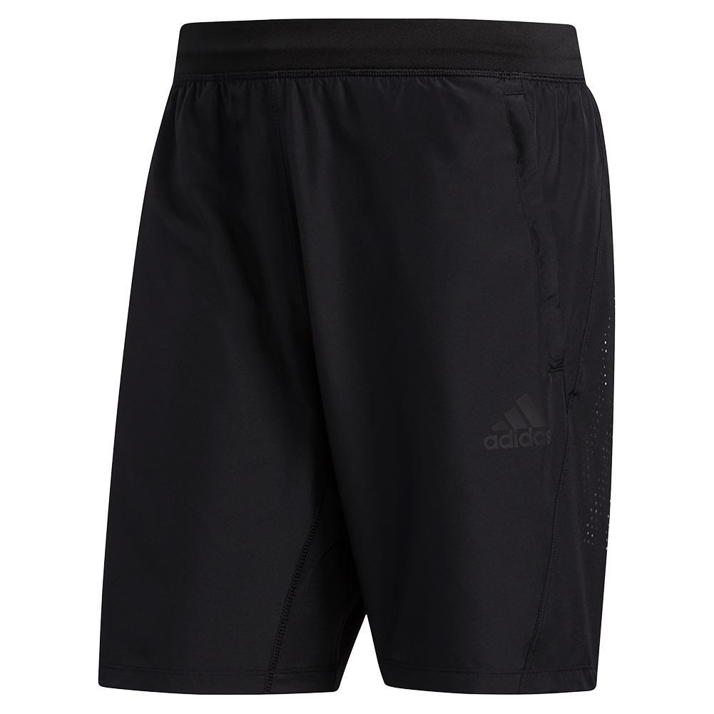 Men's 3- Stripes Woven 8 Inch Performance Short Black