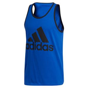 Men`s Badge of Sport Classic Tank Team Royal Blue and Black