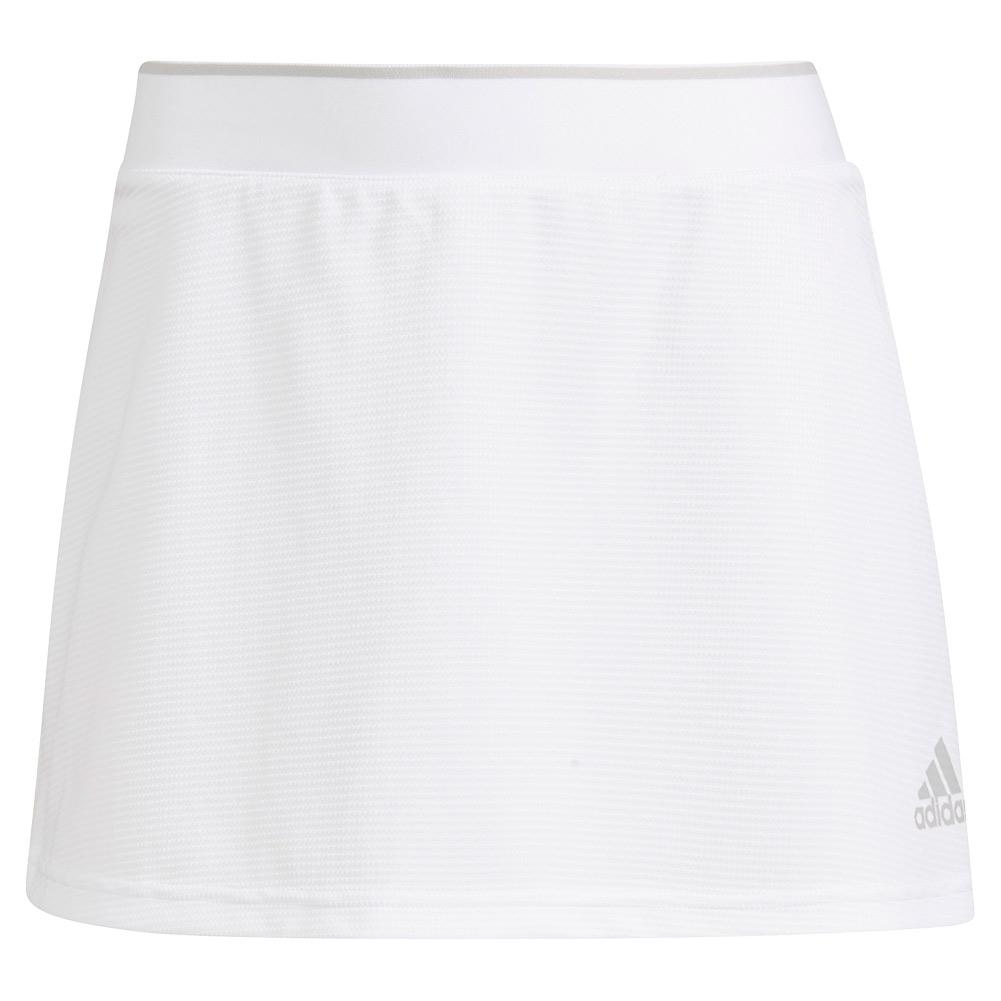 Women's Club 13 Inch Tennis Skort Tennis Top White And Grey Two
