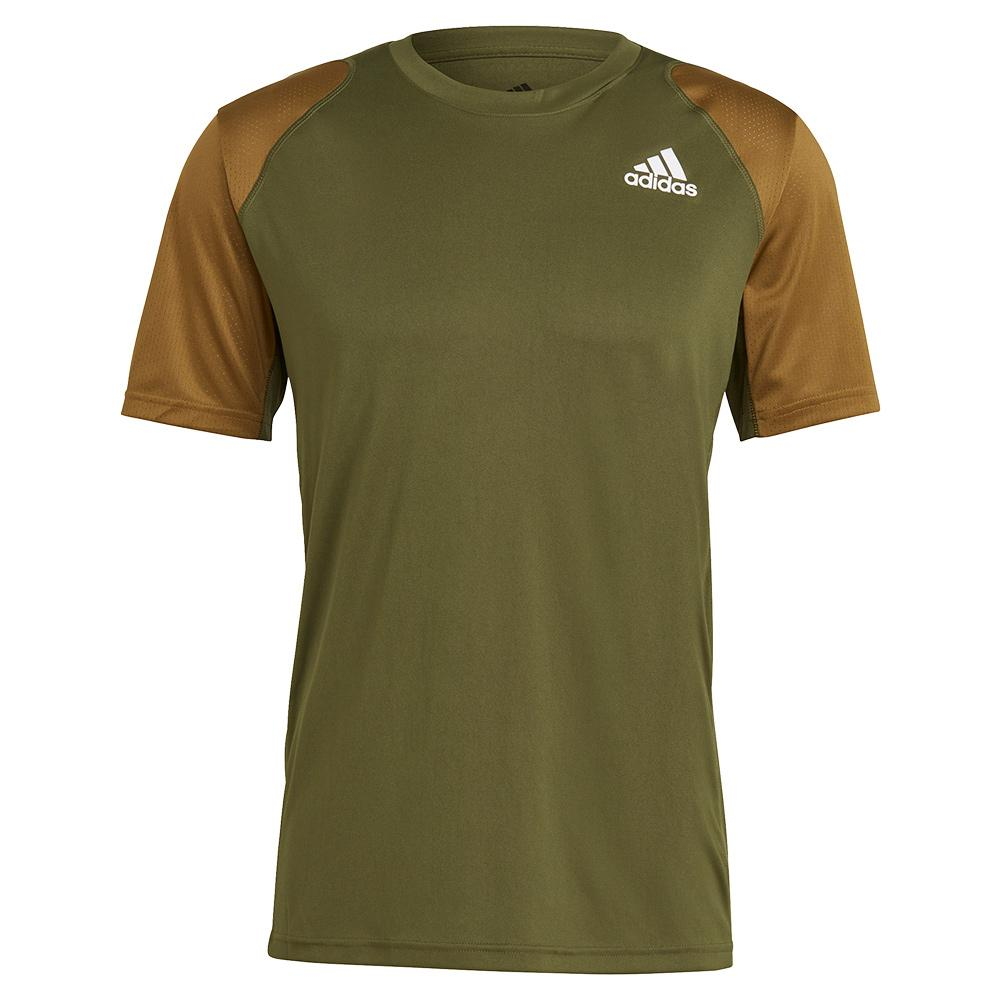 Tennisexpress Men`s Club Tennis Top Wild Pine and Moss