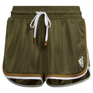 Women`s Club 2 in 1 Tennis Short Wild Pine and White