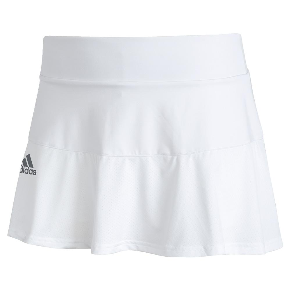 Women's Aeroready Match Tennis Skort White And Black