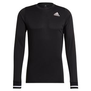 Men`s FreeLift Long Sleeve Tennis Top Black
