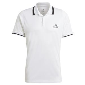 Men`s FreeLift Tennis Polo White and Black