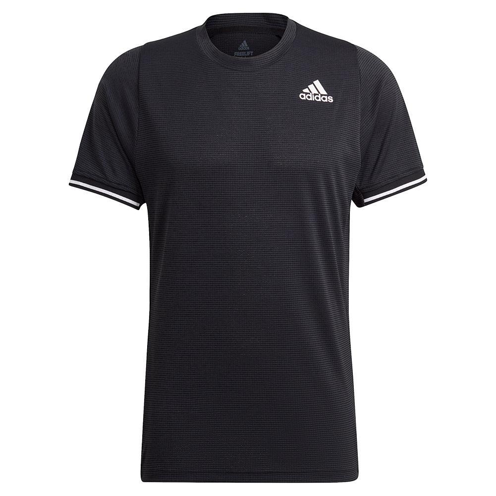 Men's Freelift Tennis Top Black