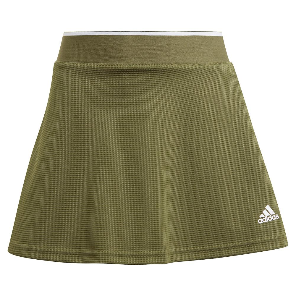 Girls ` Club Tennis Skort Wild Pine And White