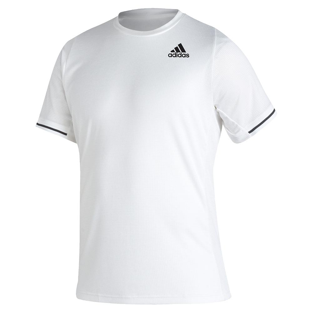 Tennisexpress Men`s FreeLift Tennis Top White and Black