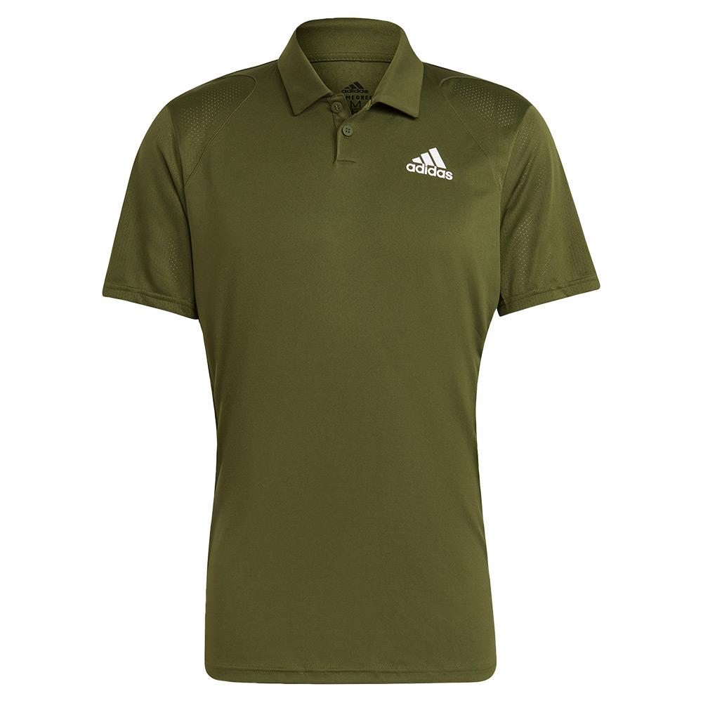 Men's Club Tennis Polo Wild Pine And White