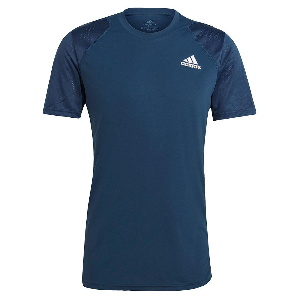Tennisexpress Men`s Club Tennis Top Crew Navy and White