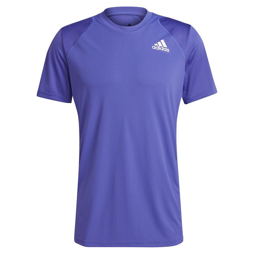 Men's Club Tennis Top Crew Purple And White