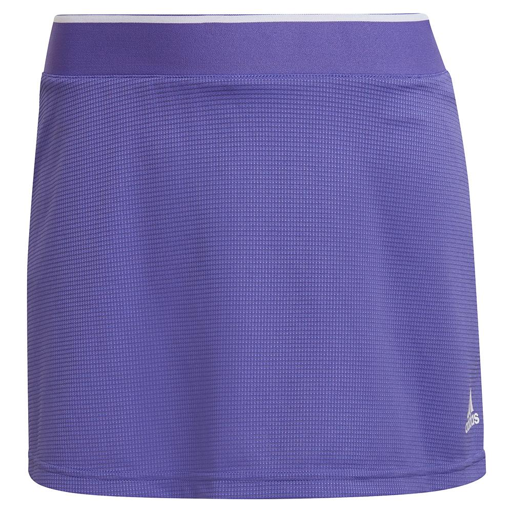 Women's Club 13 Inch Tennis Skort Purple And White