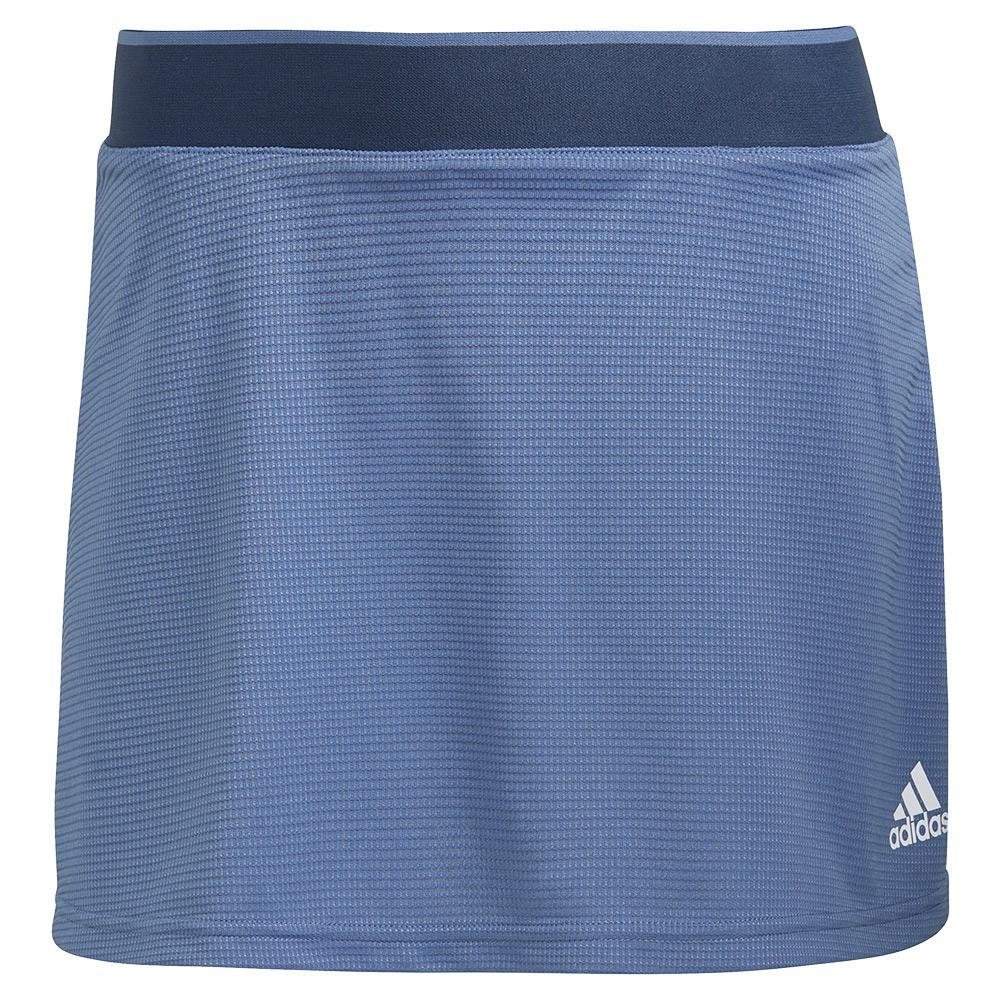 Women's Club 13 Inch Tennis Skort Crew Blue And White