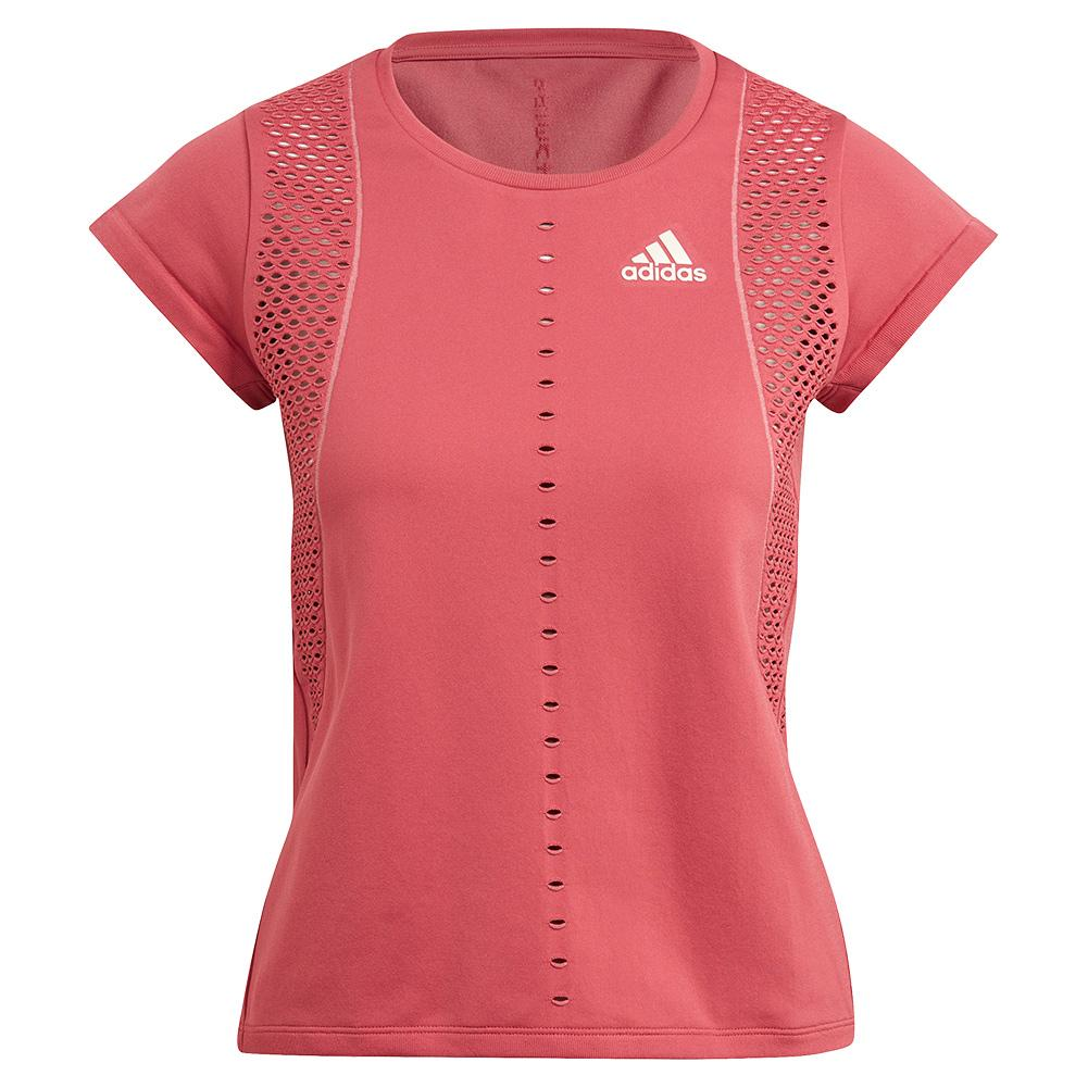 Women's Primeknit Primeblue Tennis Top Wild Pink