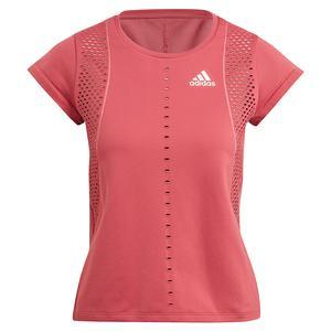 Women`s Primeknit Primeblue Tennis Top Wild Pink