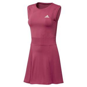 Women`s Primeknit Primeblue Tennis Dress Wild Pink