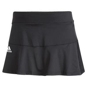 Women`s AEROREADY Match Tennis Skort Black and White