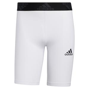 Men`s Techfit Short Tights White