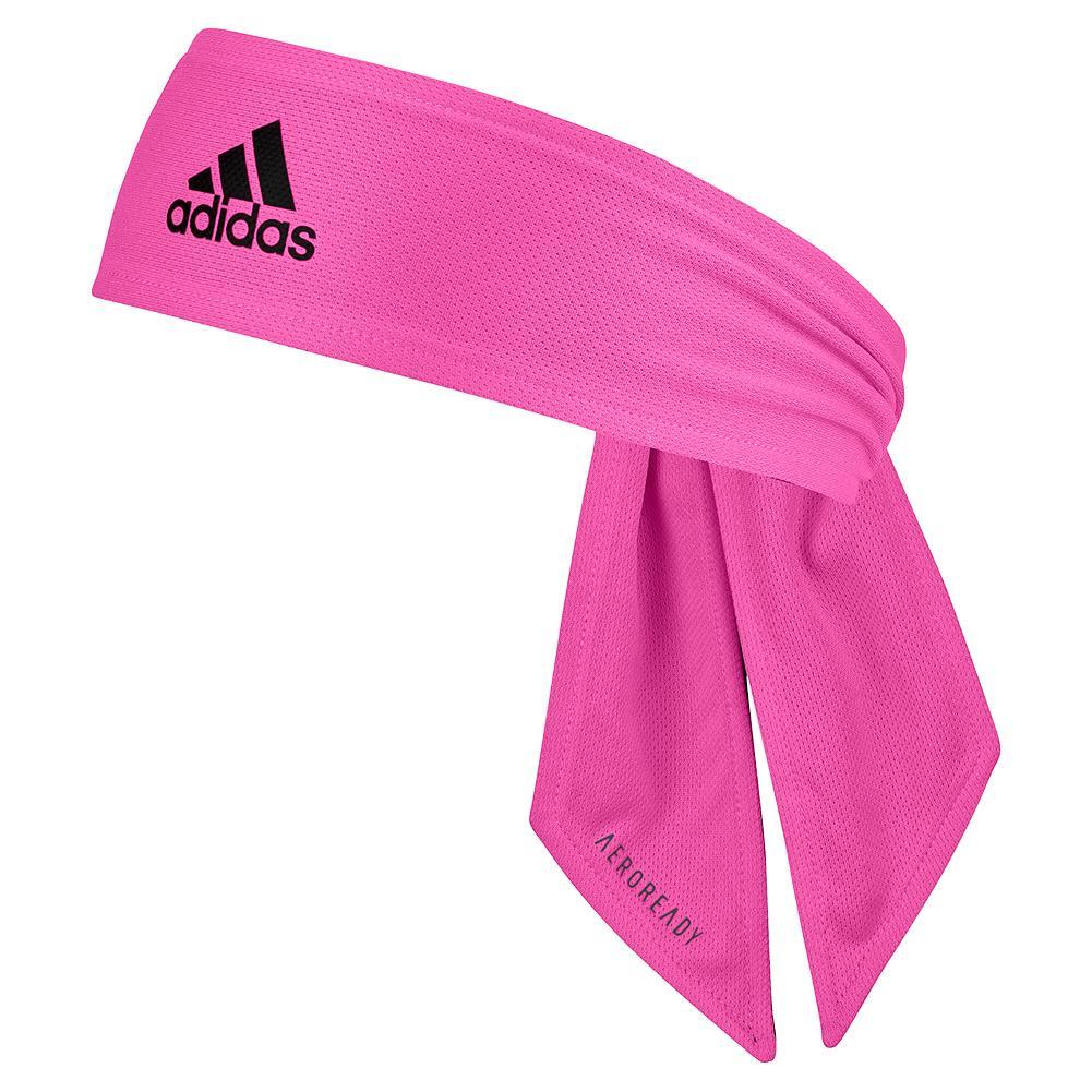 Rev Aeroready 2- Coloured Tennis Tieband Screaming Pink And Dark Grey