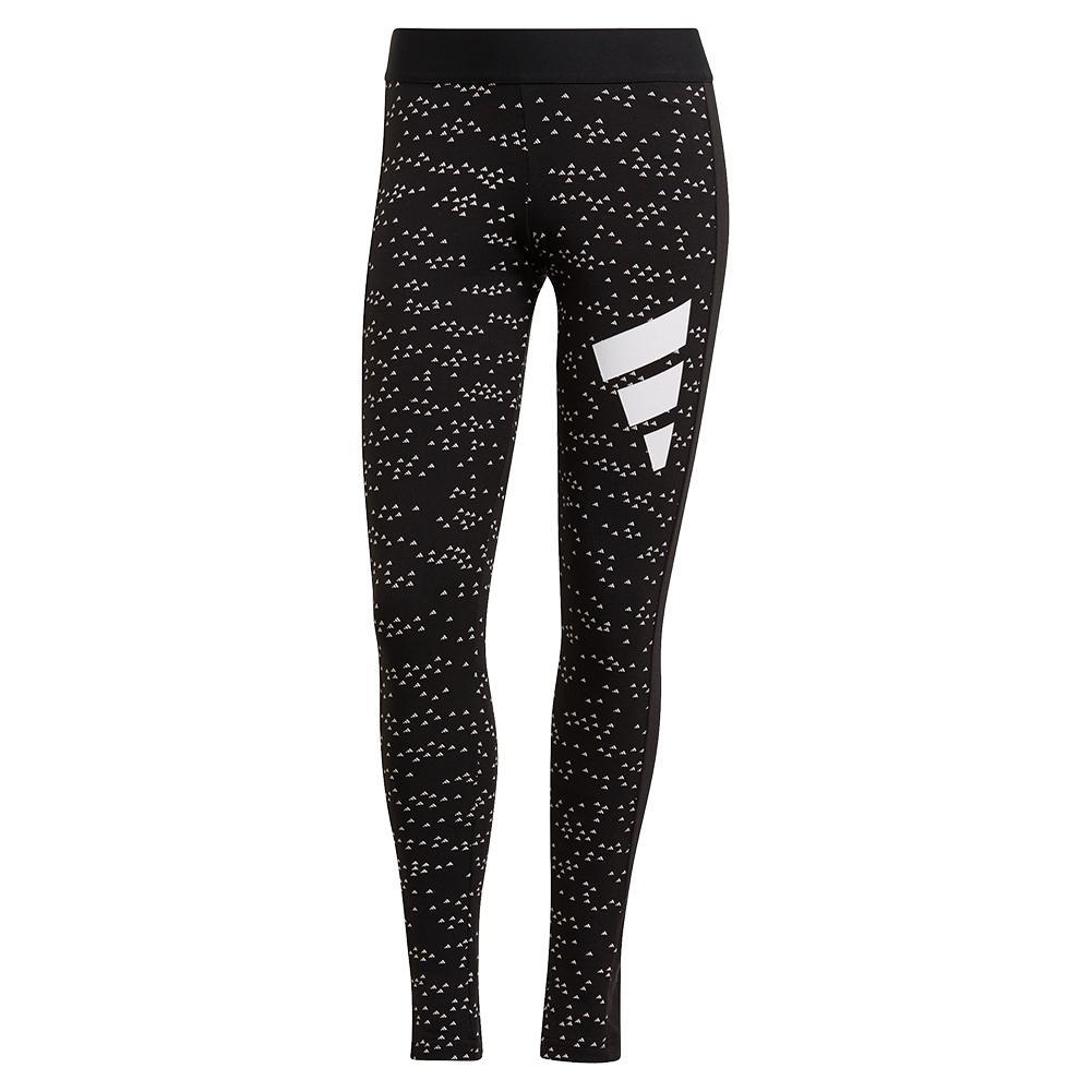 Women's Sportswear 3- Bar All Over Print Leggings Black
