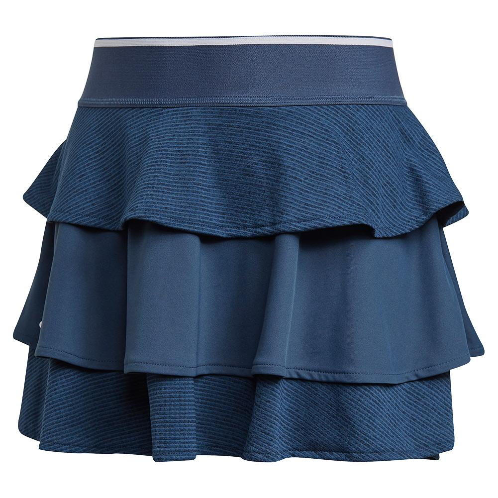 Girls ` Pop Up Tennis Skort Crew Navy