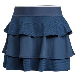 Girls` Pop Up Tennis Skort Crew Navy