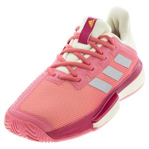 Women`s SoleMatch Bounce Tennis Shoes Hazy Rose and Silver Metallic