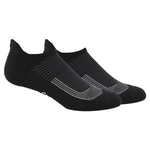 Women`s Superlite UB21 Tabbed No Show Socks 2-Pack Black and Grey