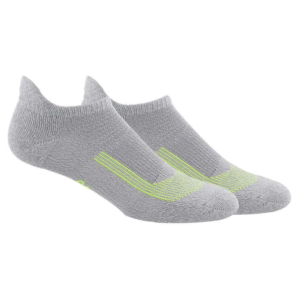 Women's Superlite Ub21 Tabbed No Show Socks 2- Pack White And Clear Onix Marl
