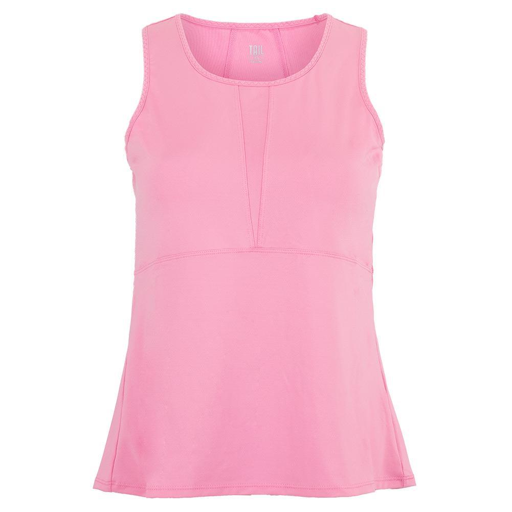 Women's Rina Tennis Tank Camelia Pink