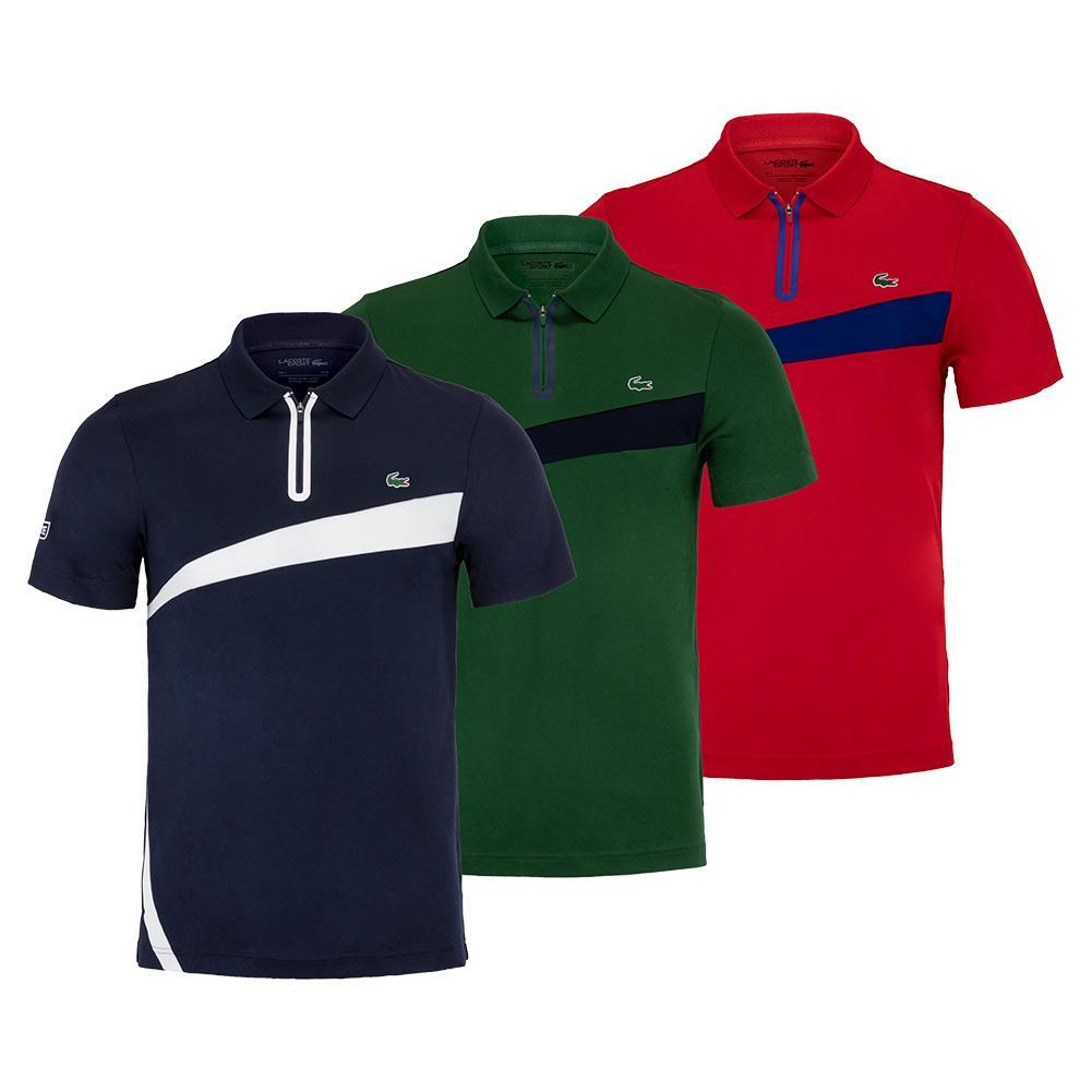 Men's Short Sleeve Tennis Polo