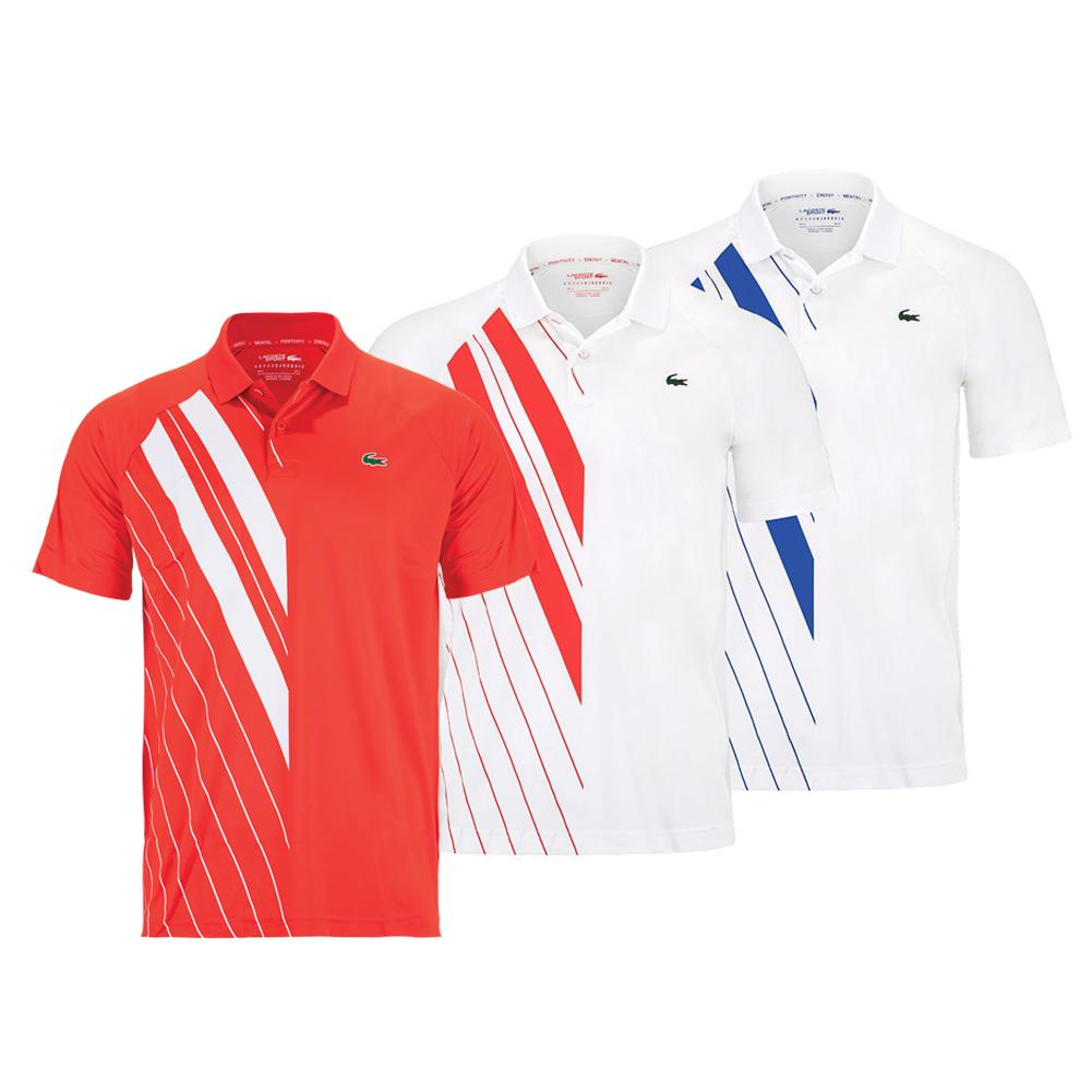 Men's Novak Djokovic Short Sleeve Tennis Polo