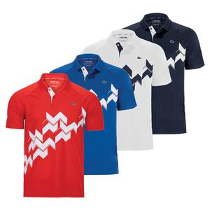 Men`s Novak Djokovic Short Sleeve Tennis Polo