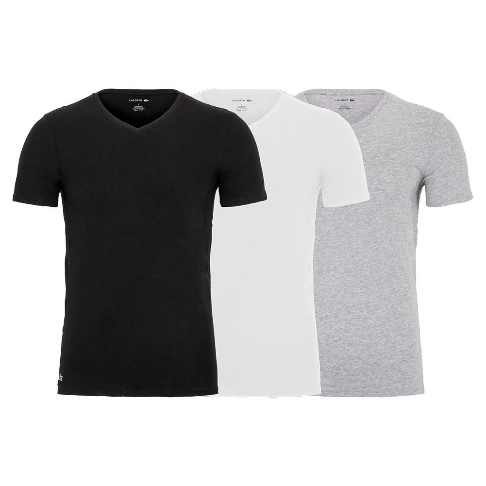 Tennisexpress Men`s Regular Essential V Neck Tee (3 Pack)