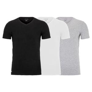 Men`s Regular Essential V Neck Tee (3 Pack)