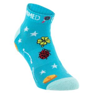 Women`s Charmed Low Cut Tennis Socks Blue